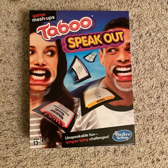 Taboo Speak Out by Hasbro Gaming Age 13+